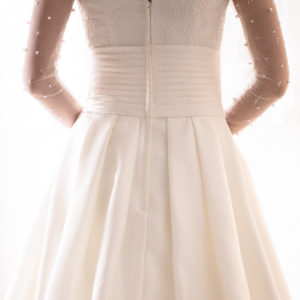 Photographe de mariage à Montpellier. Photographie de robe de mariée.